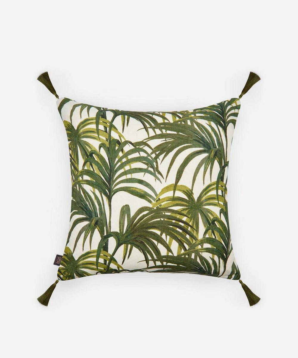 House of Hackney - Large Palermal Linen Tassel Cushion