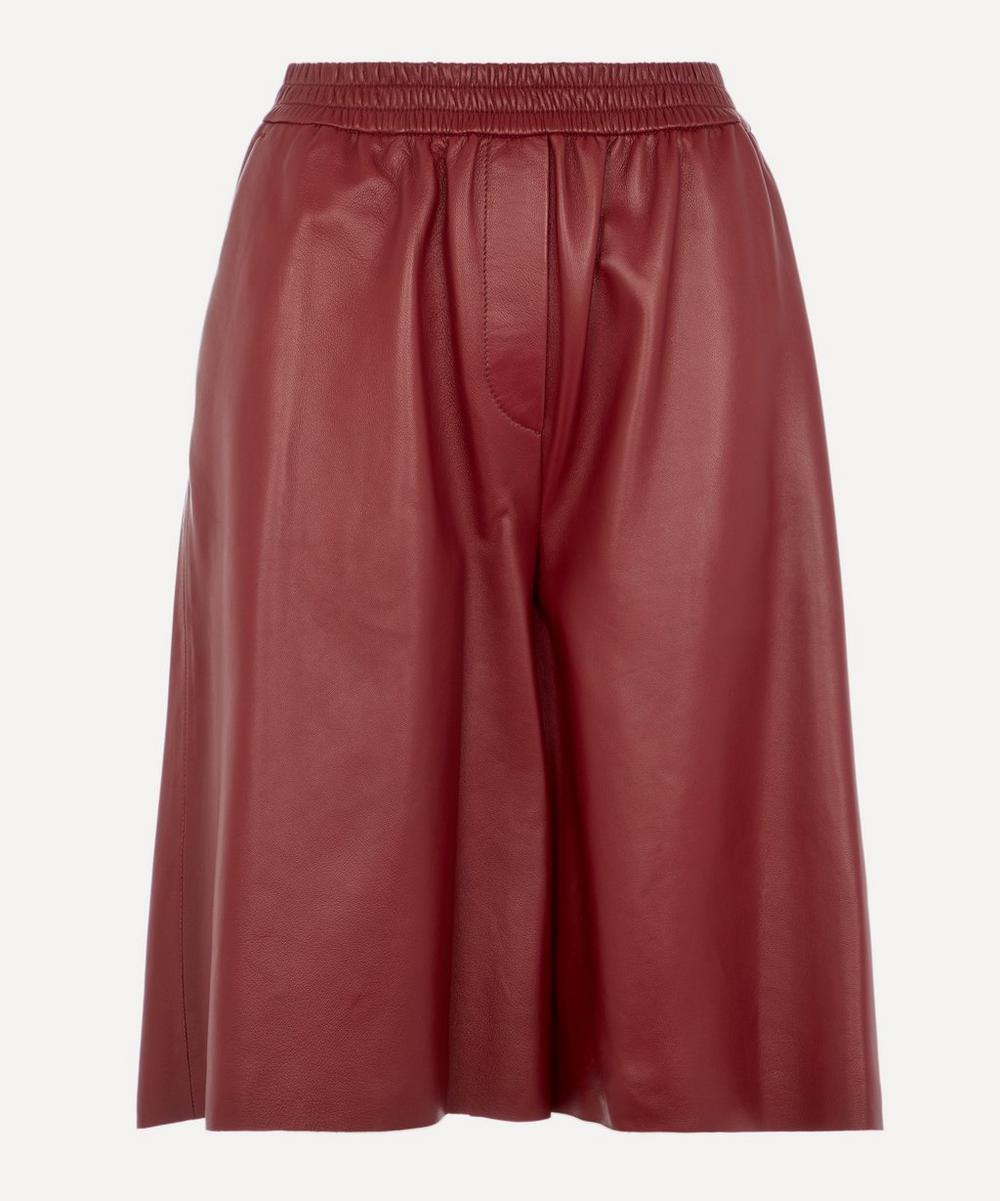 Joseph - Tomy Leather Shorts