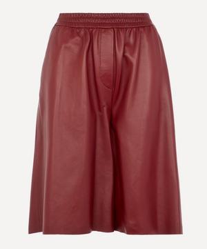Tomy Leather Shorts