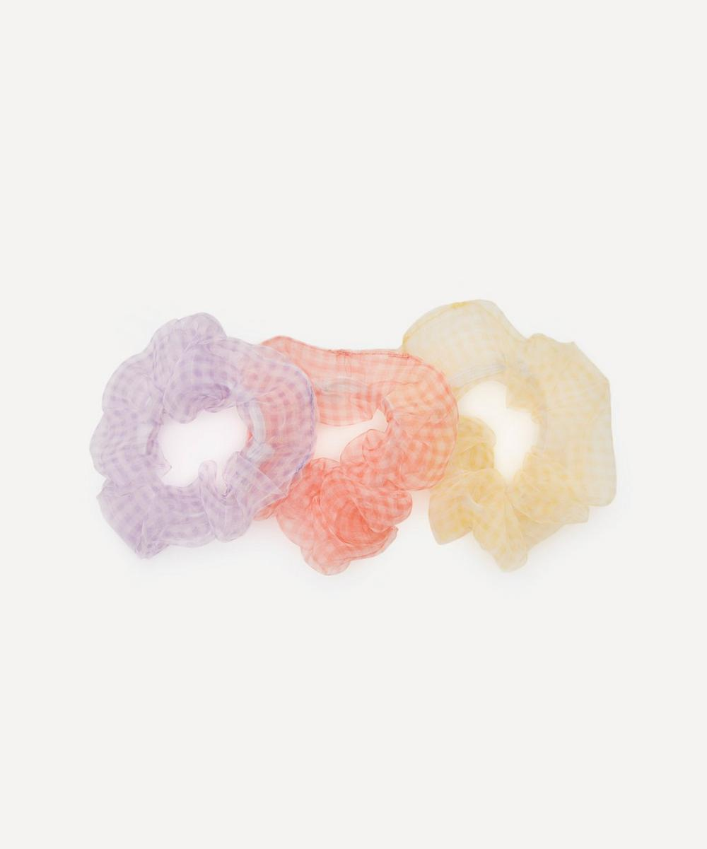 Valet - Roxette Chiffon Scrunchies Set of Three