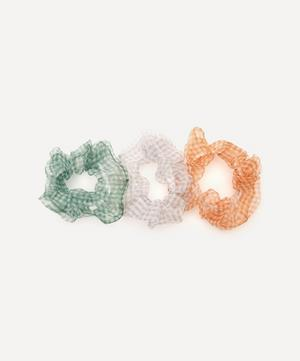 Roxette Chiffon Scrunchies Set of Three