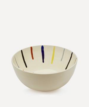 Drops Salad Terracotta Bowl
