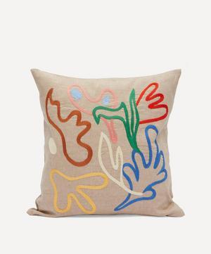Flower Splash Cushion