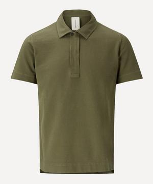 Butcher Cotton Pique Polo Shirt