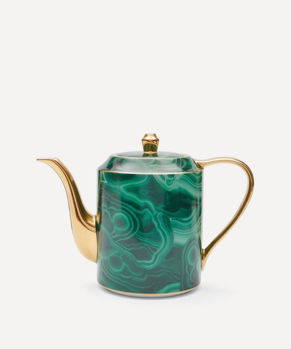 L'Objet - Malachite Teapot