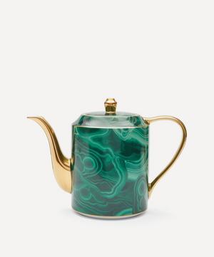 Malachite Teapot
