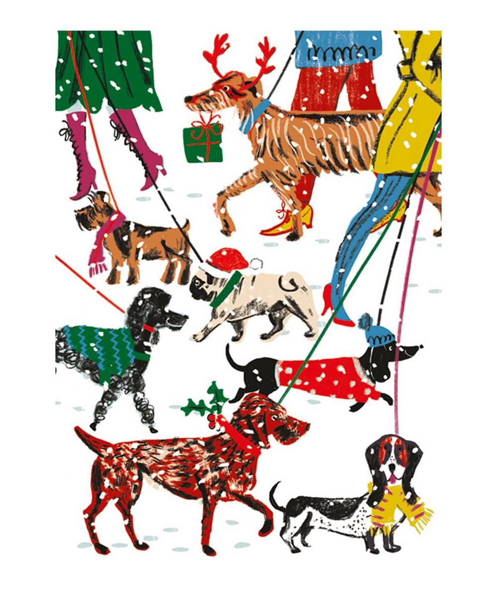 Unspecified - Winter Walkies Greeting Cards Set of Eight