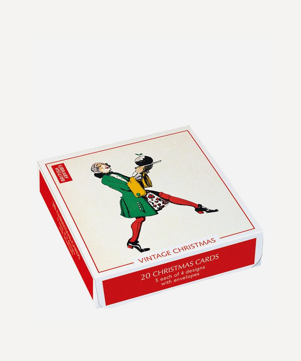 Unspecified - British Library Vintage Christmas Boxed Pack of Twenty