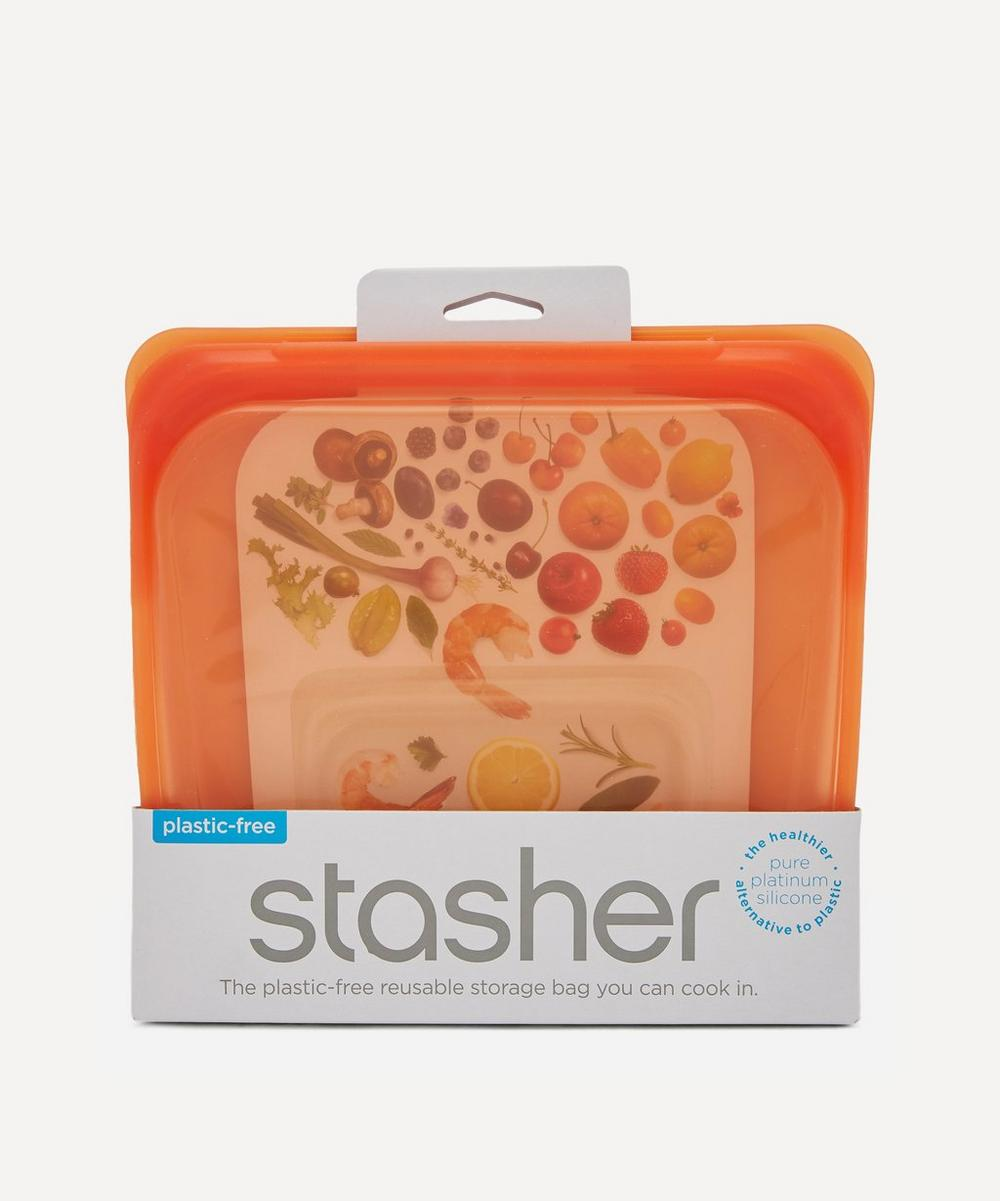 Stasher - Reusable Silicone Sandwich Bag