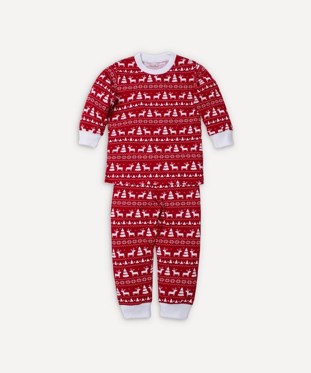 Kissy Kissy - Christmas Deer Pyjama Set 12-24 Months