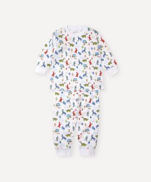 Dino Campfire Pyjama Set 2-6 Years