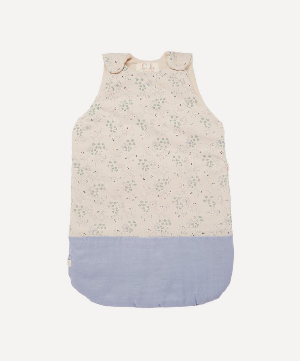 Camomile London - Minako Cornflower Small Sleeping Bag 0-6 Months
