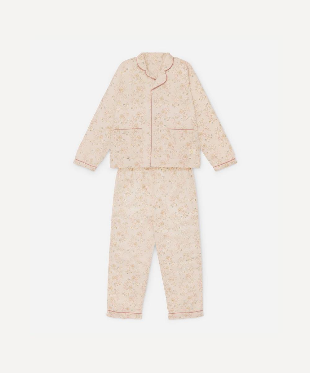 Camomile London - Minako Golden Pyjama Set 2-5 Years