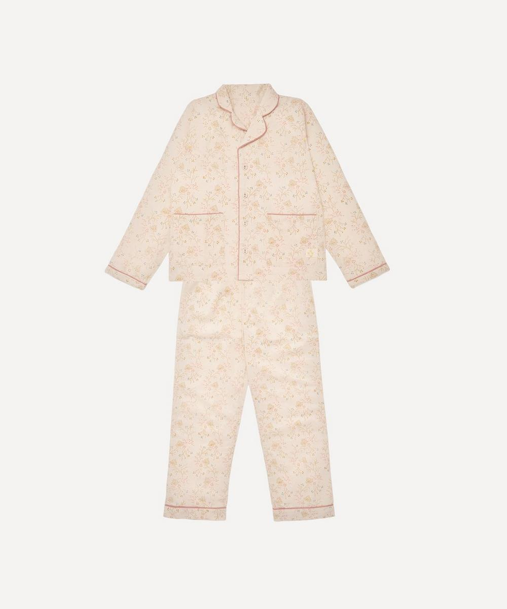 Camomile London - Minako Golden Pyjama Set 6-7 Years