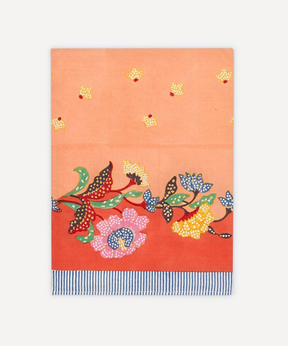 Lisa Corti - Indonesian Orange Tablecloth