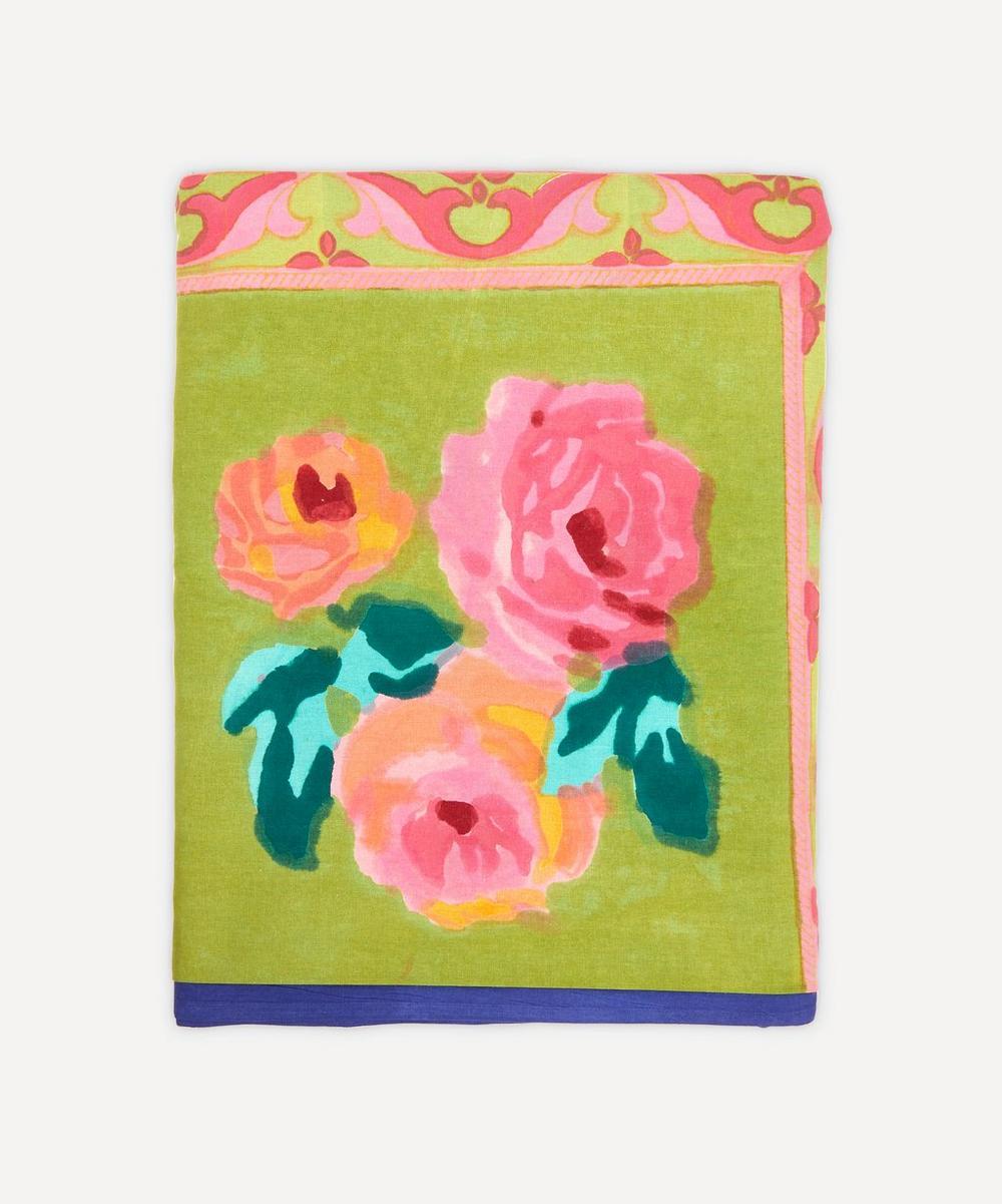 Lisa Corti - Large Nizam Acid Green Tablecloth