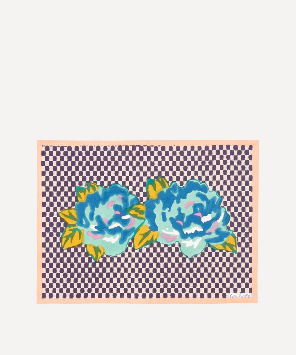 Lisa Corti - Double Peonia Peach Placemat