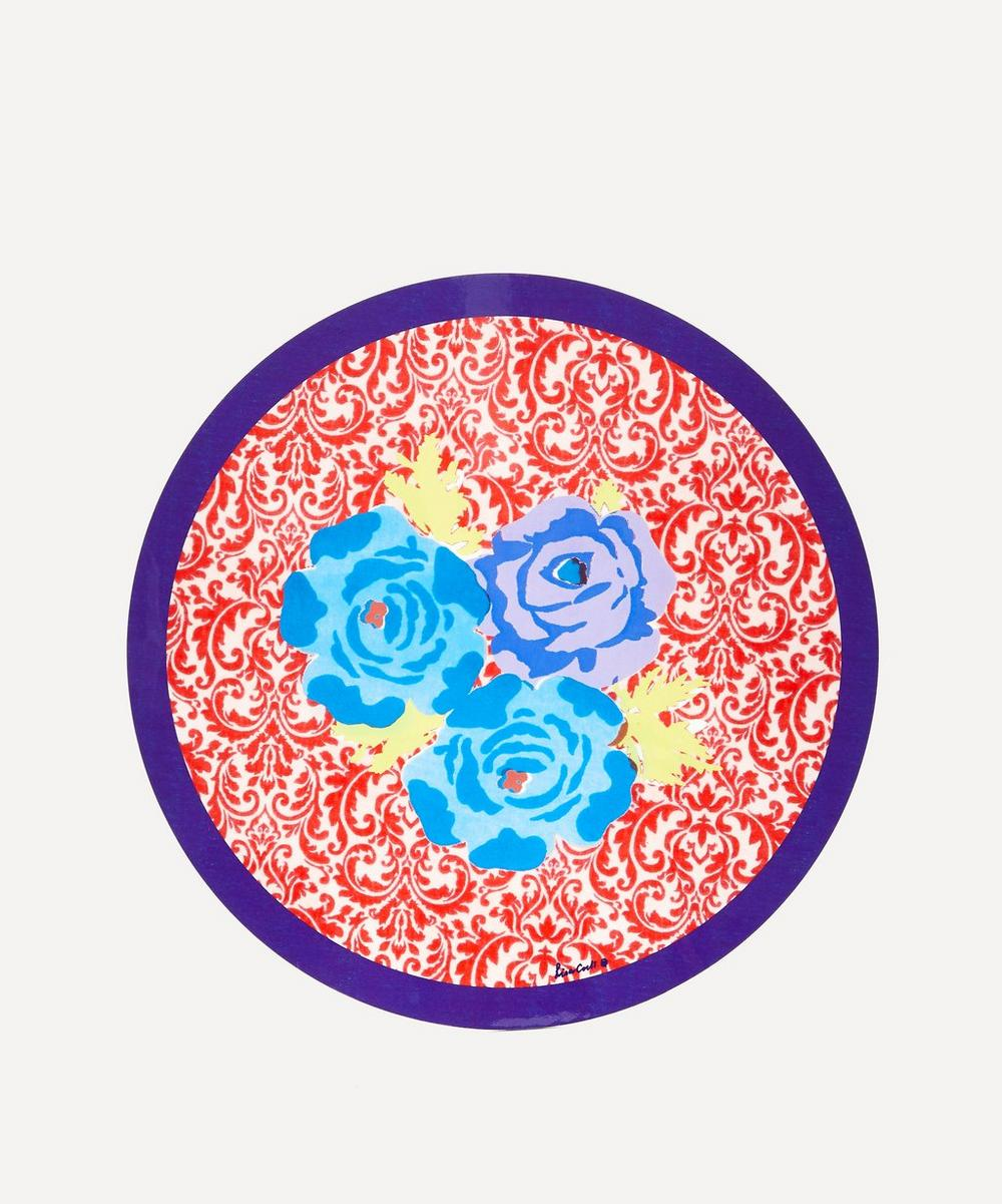 Lisa Corti - Poppy Red Round Placemat