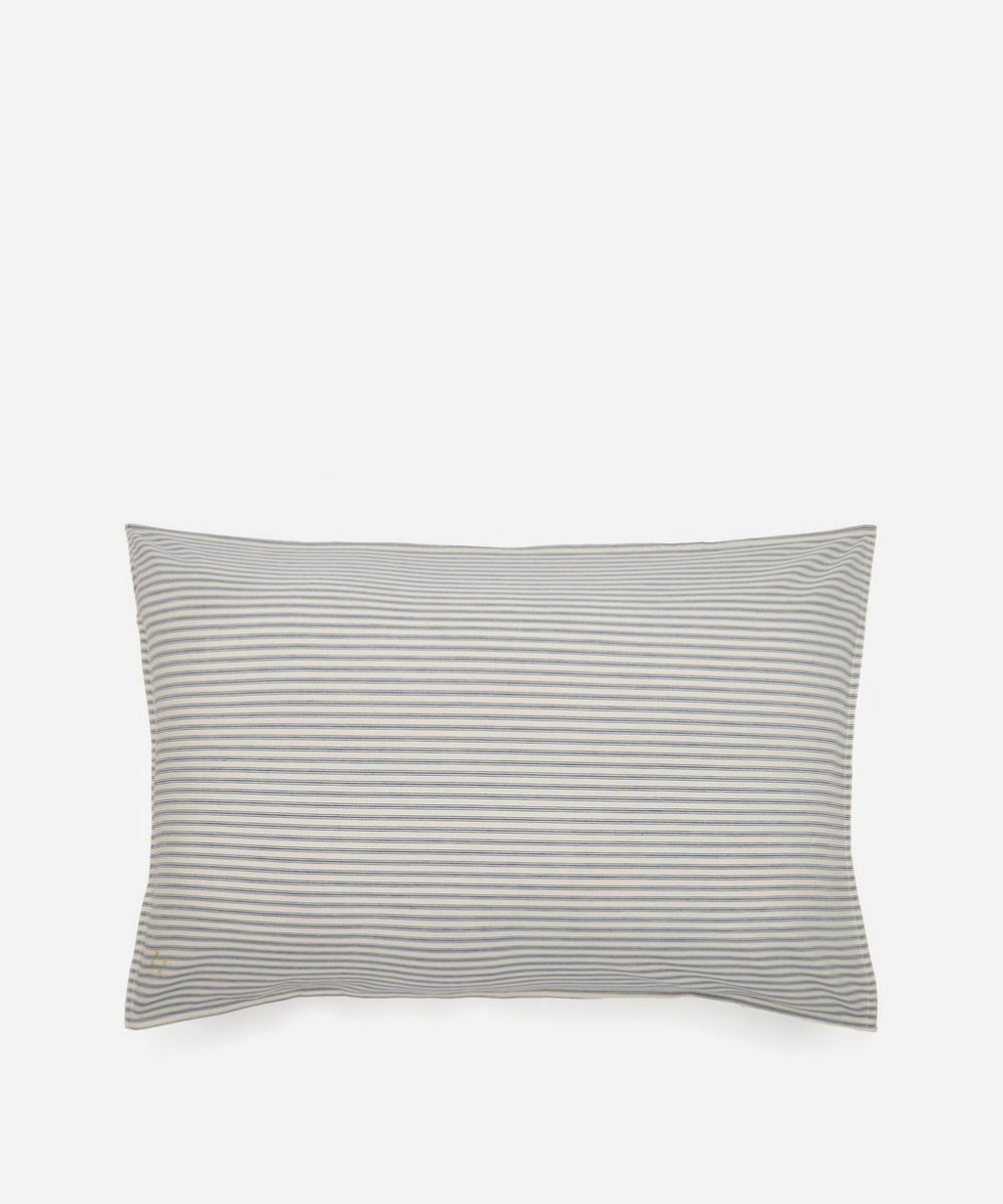 Camomile London - Ticking Stripe Standard Pillowcase