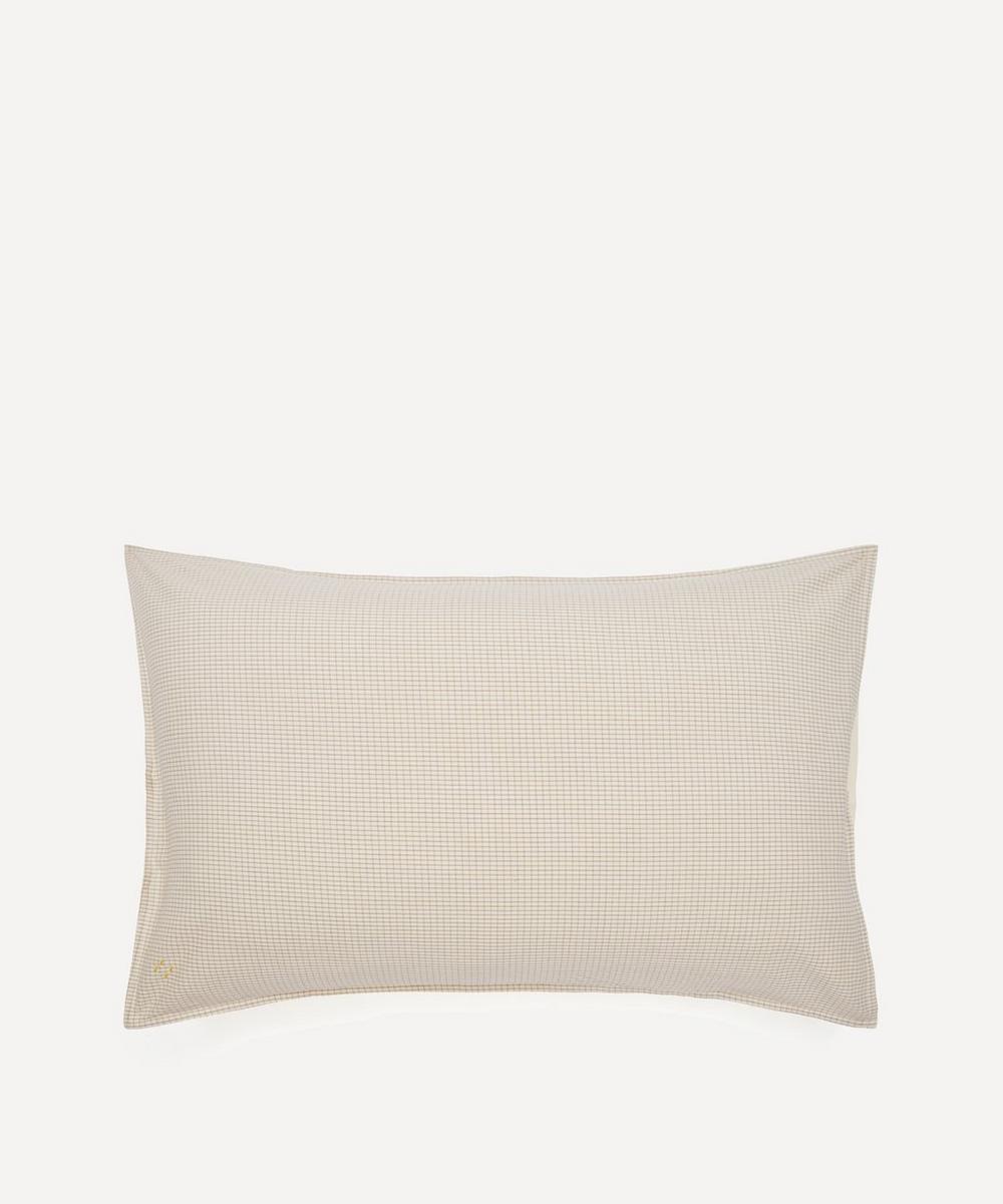 Camomile London - Double Check Standard Pillowcase