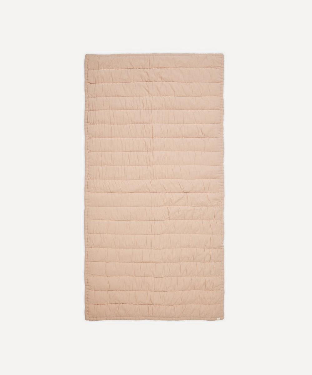Camomile London - Quilted Small Single Blanket