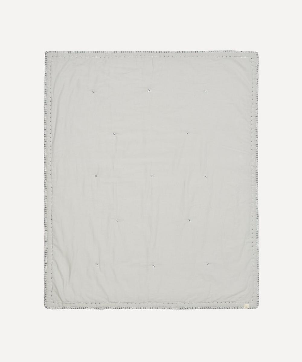 Camomile London - Cotton Filled Reversible Junior Quilt