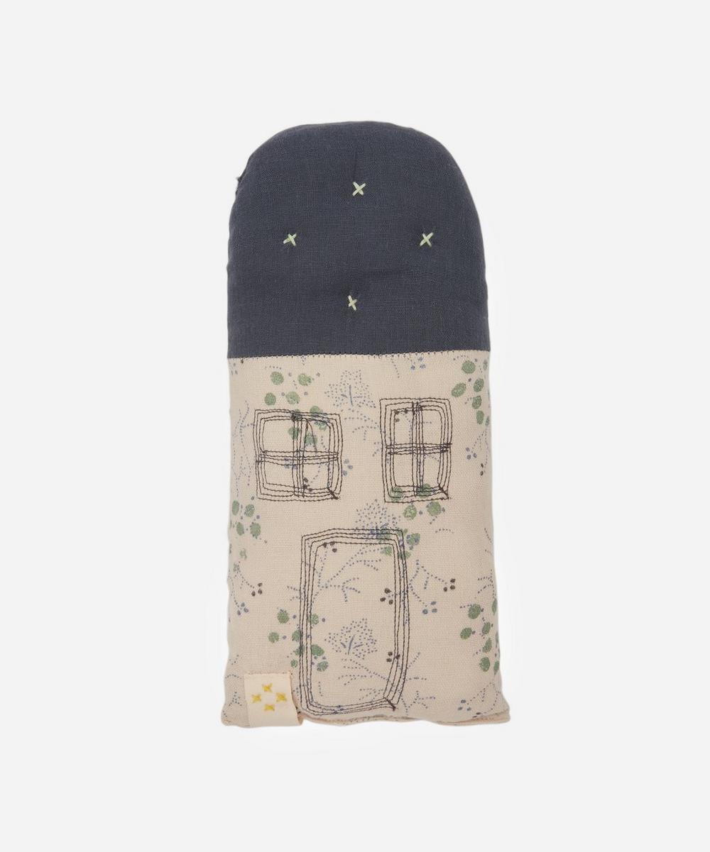Camomile London - Petit House Minako Cornflower Cushion