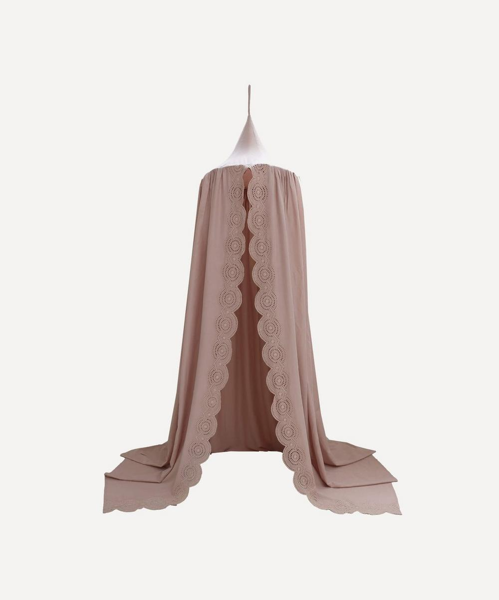 Camomile London - Scalloped Edge Bed Canopy