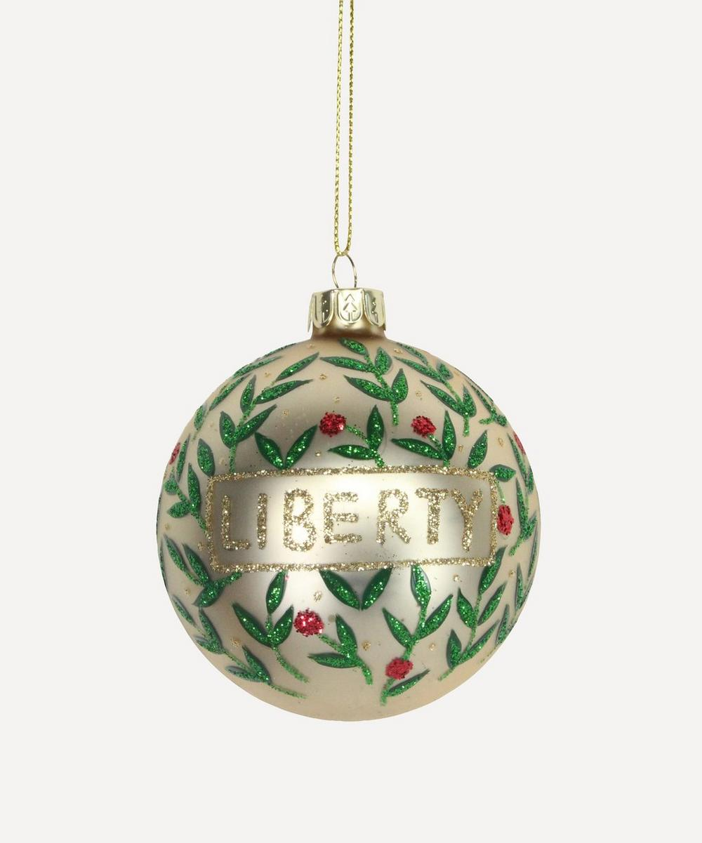Unspecified - Liberty Berry Glass Bauble