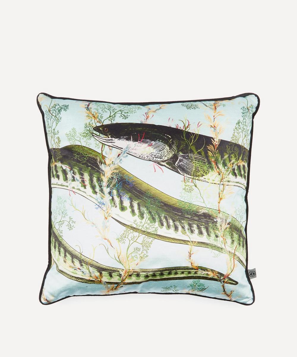 Timorous Beasties - Eel Velvet Cushion