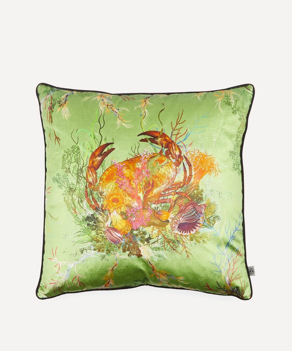Timorous Beasties - Crab Velvet Cushion