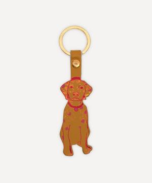 Dog Leather Key Chain