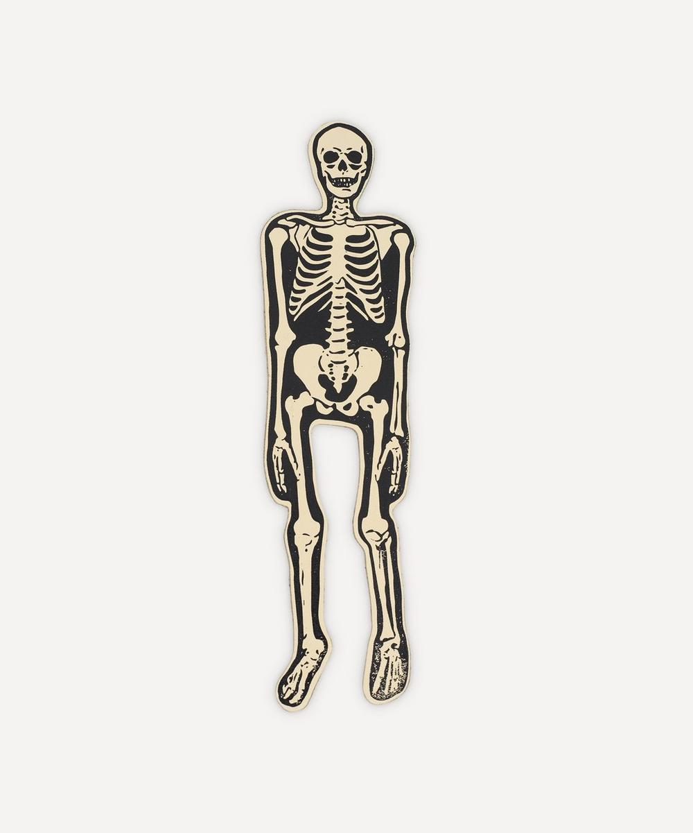 Ark - Leather Skeleton Bookmark