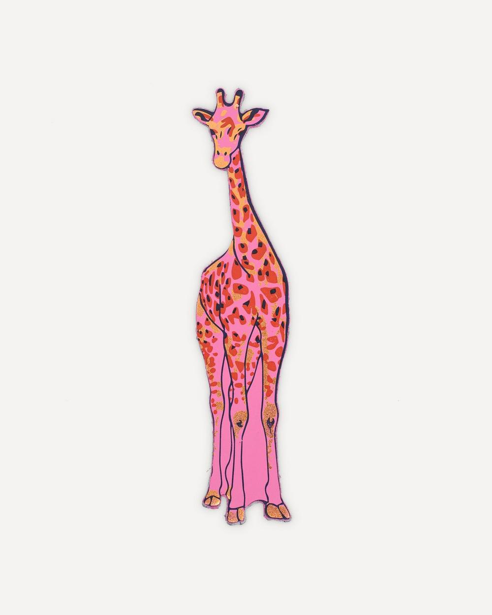 Ark - Giraffe Leather Bookmark