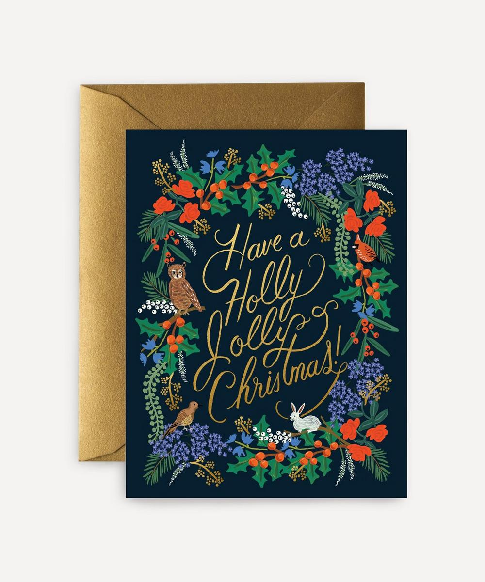 Rifle Paper Co. - Holly Jolly Boxed Cards Set of Eight
