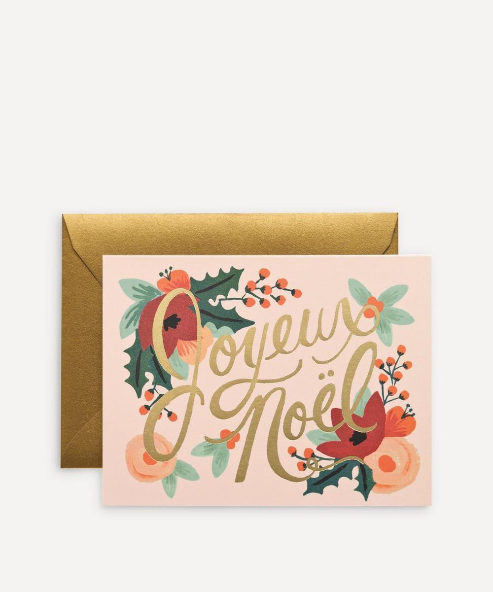 Rifle Paper Co. - Joyeux Noel Boxed Cards Set of Eight