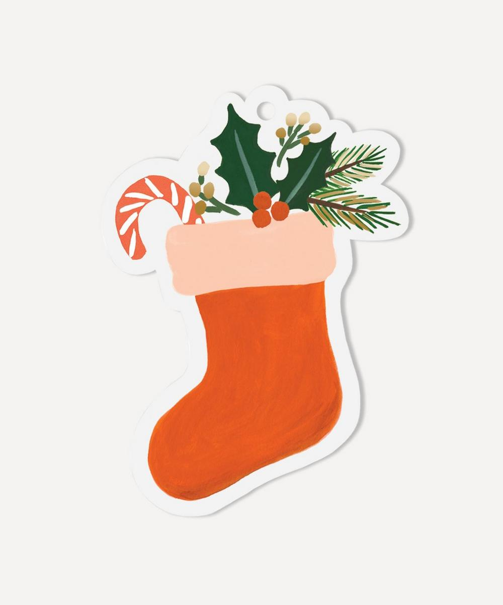 Rifle Paper Co. - Stockings Gift Tags Set of Eight