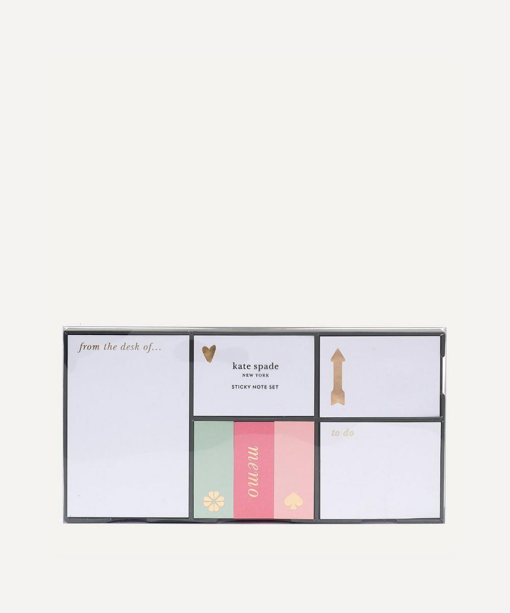 Kate Spade new york - Colourblock Sticky Note Set