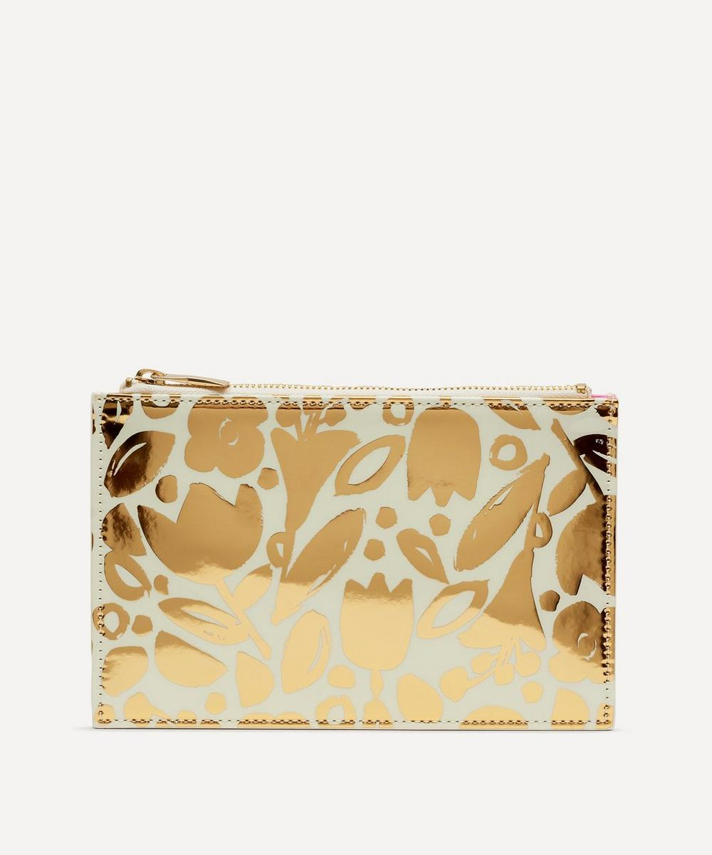 Kate Spade new york - Golden Floral Pencil Pouch