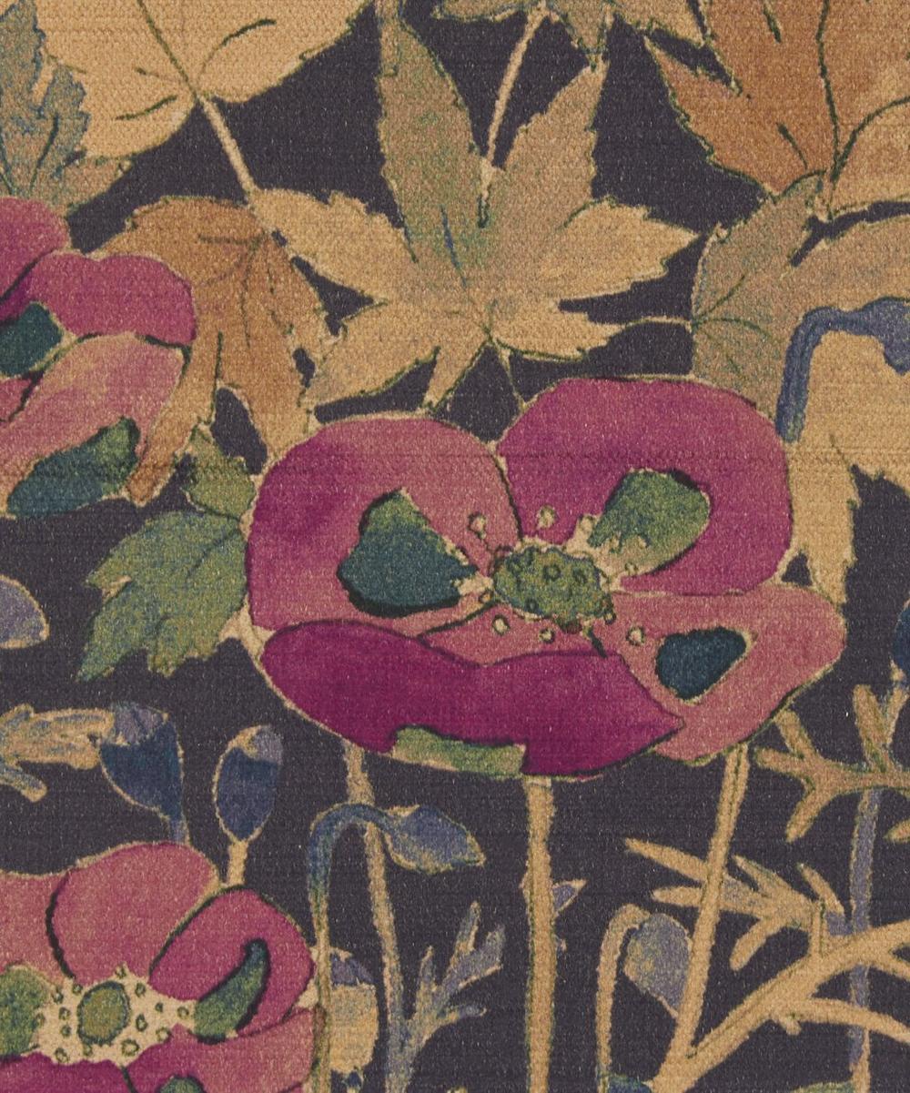 Liberty Fabrics Interiors - Faria Flowers Vintage Velvet in Dragonfly