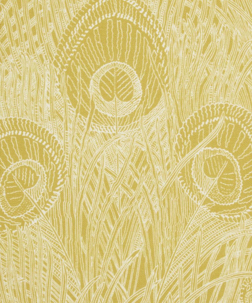 Liberty Fabrics Interiors - Hebe Marlowe Linen in Lichen Chartreuse