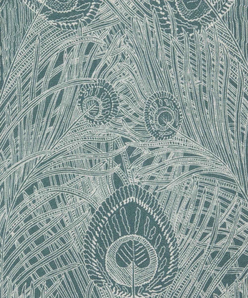Liberty Fabrics Interiors - Hebe Marlowe Linen in Lichen Robin's Egg