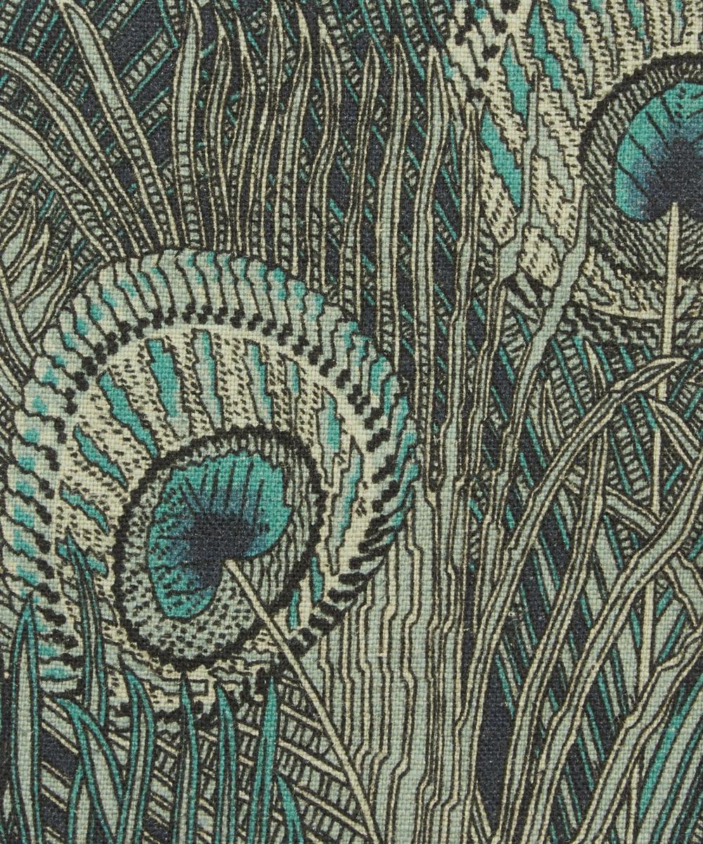 Liberty Fabrics Interiors - Hera Feather Ladbroke Linen in Jade