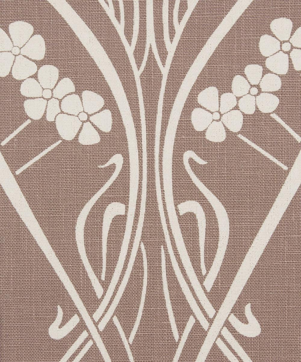 Liberty Fabrics Interiors - Ianthe Bloom Stencil Chiltern Linen in Lacquer