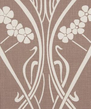 Ianthe Bloom Stencil Chiltern Linen in Lacquer