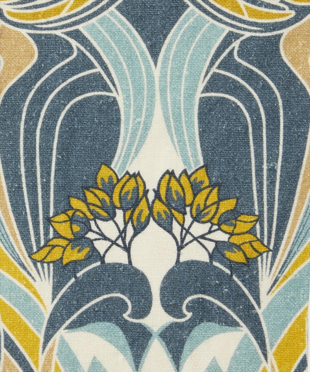 Liberty Fabrics Interiors - Katherine Nouveau Emberton Linen in Lichen