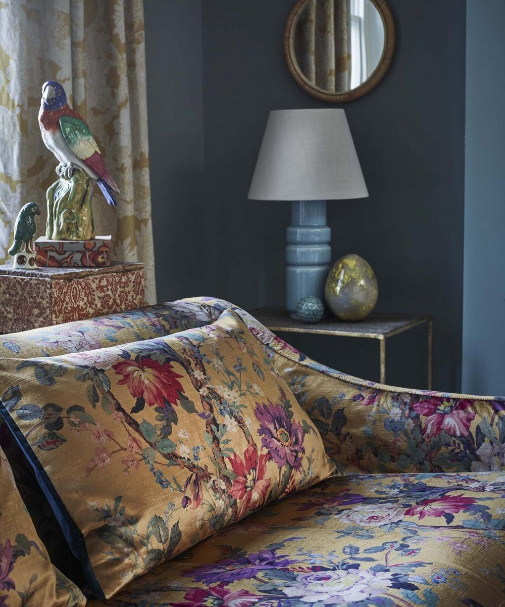 Liberty Interiors - Lady Kristina Rose Vintage Velvet in Lichen