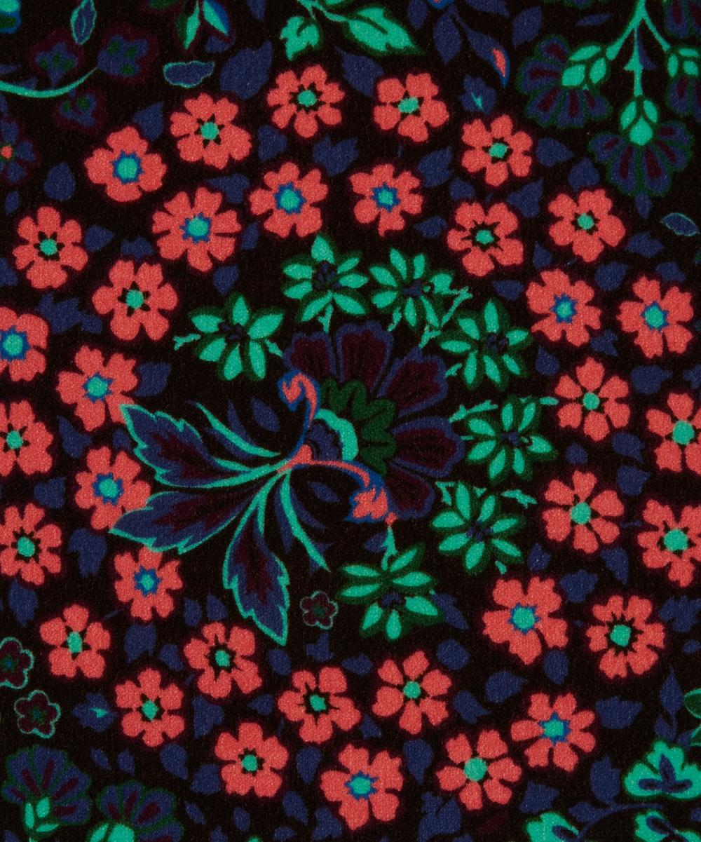 Liberty Fabrics Interiors - Marquess Garden Cotton Velvet in Jade