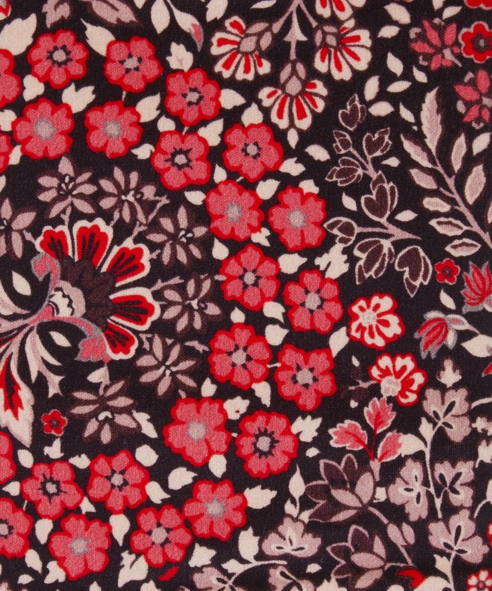 Liberty Fabrics Interiors - Marquess Garden Cotton Velvet in Lacquer
