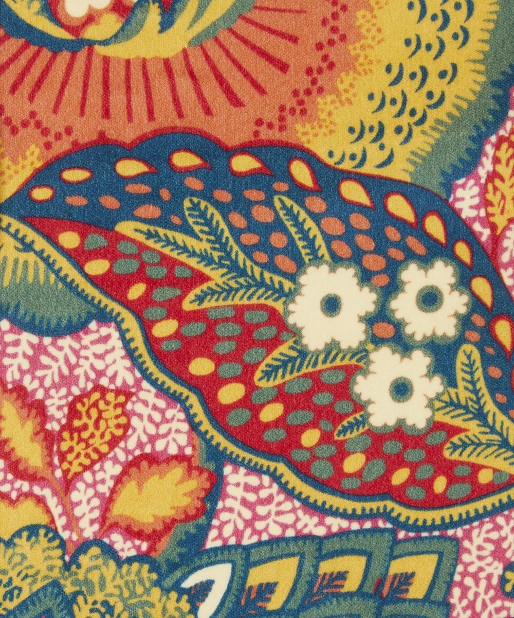 Liberty Fabrics Interiors - Patricia Cotton Velvet in Lacquer Bright